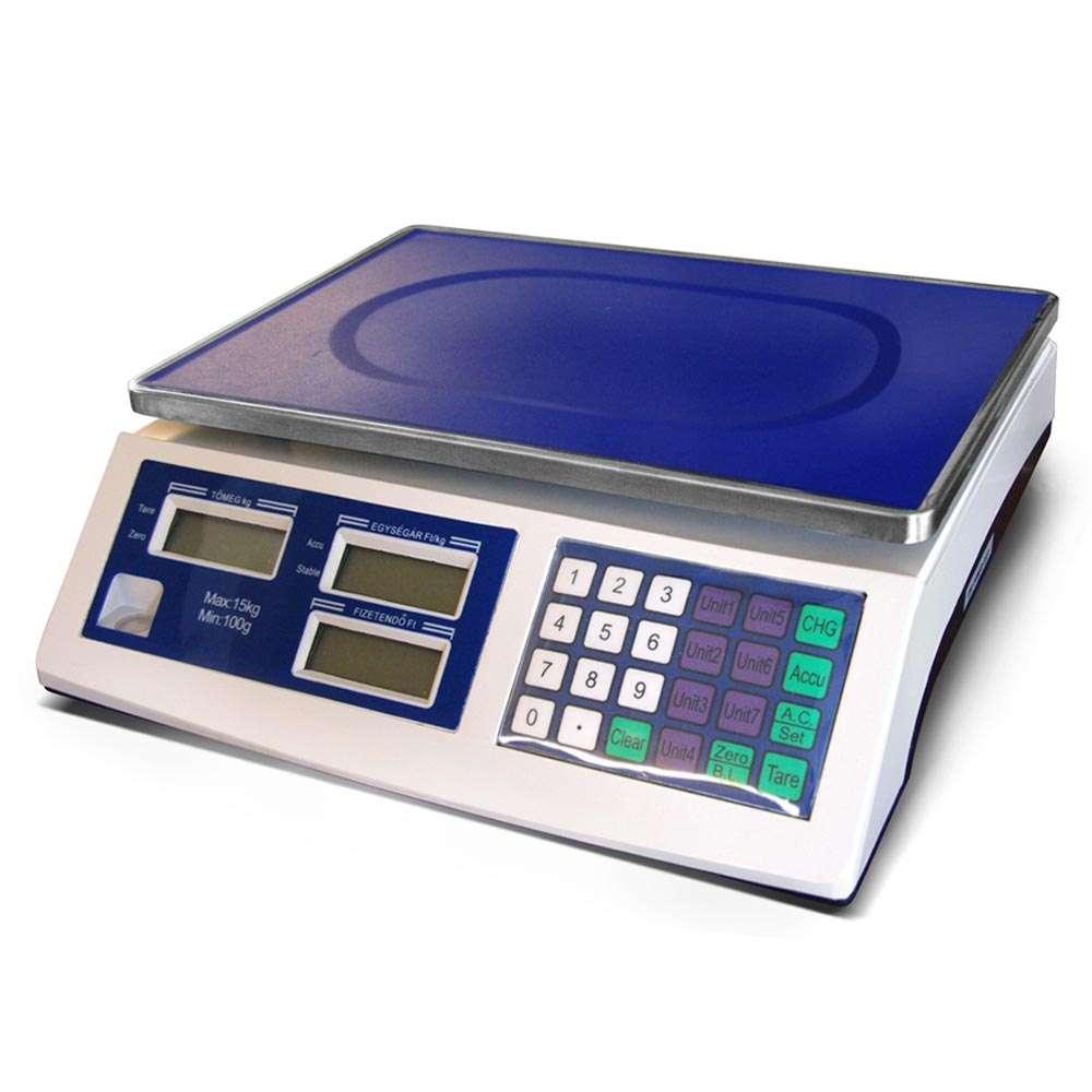Demandy ACS A 15 kg nem hitelesíthető lapos mérleg