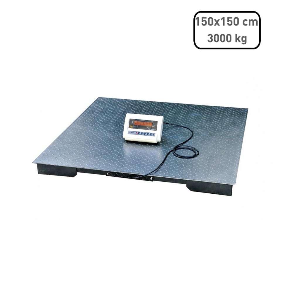 Demandy TCS-D 3000 kg raktári lapmérleg 150x150cm