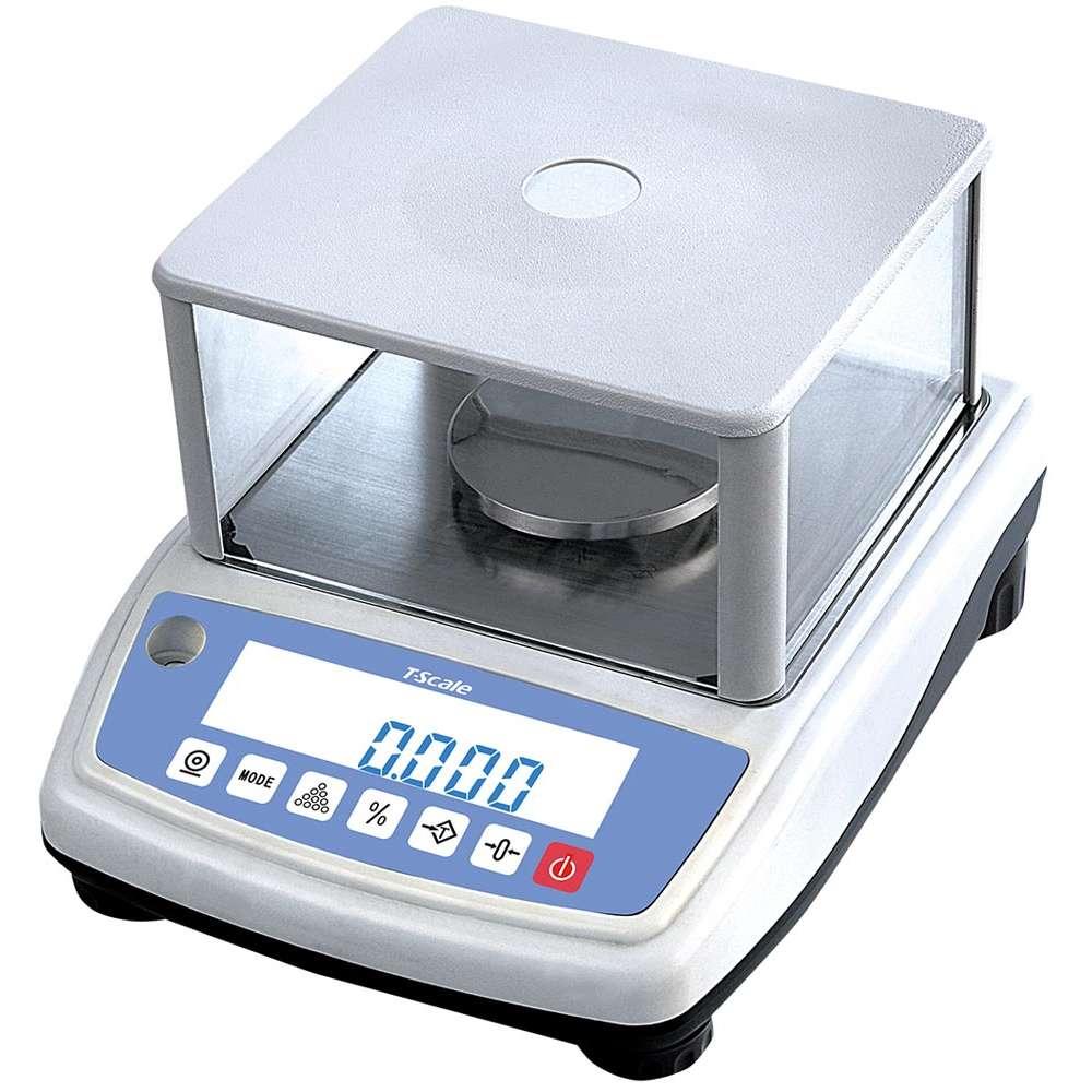 NB600 hitelesített labormérleg búrával - 600 g
