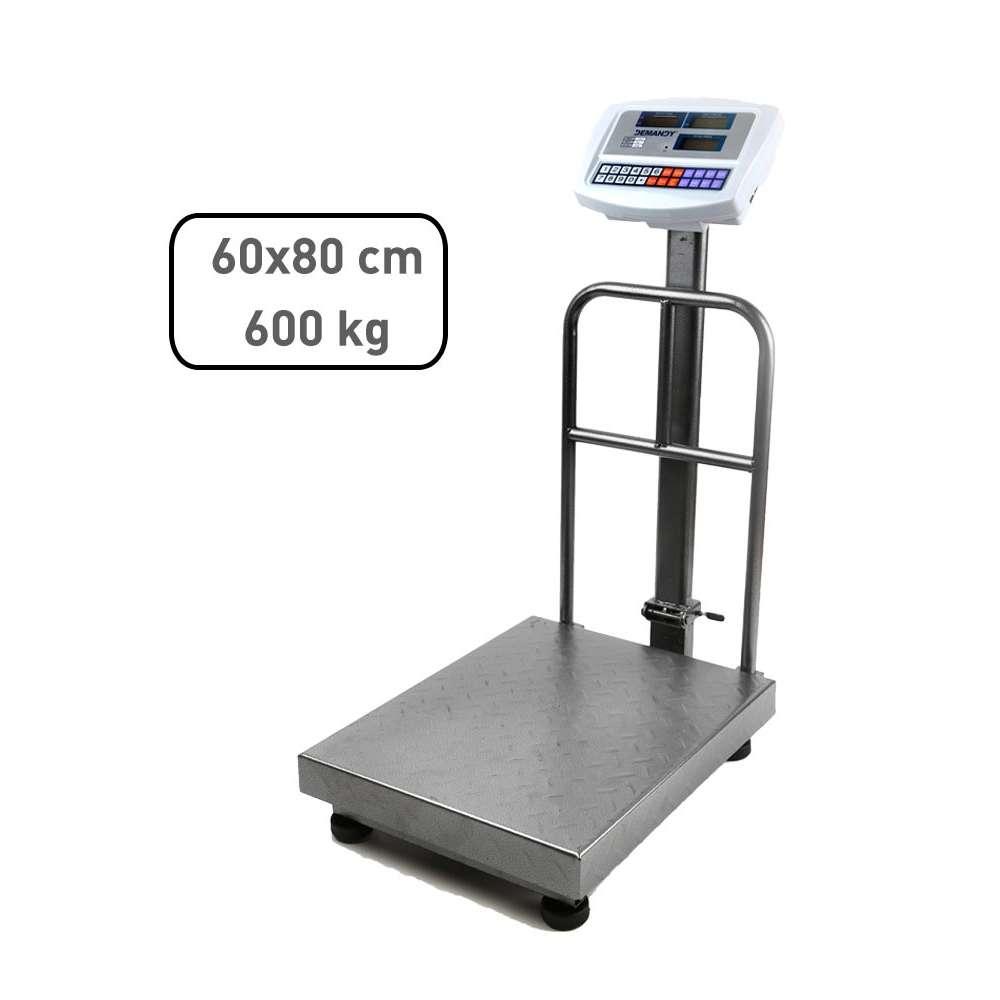 Demandy TCS 600 kg 80 x 60 ipari raktári mérleg