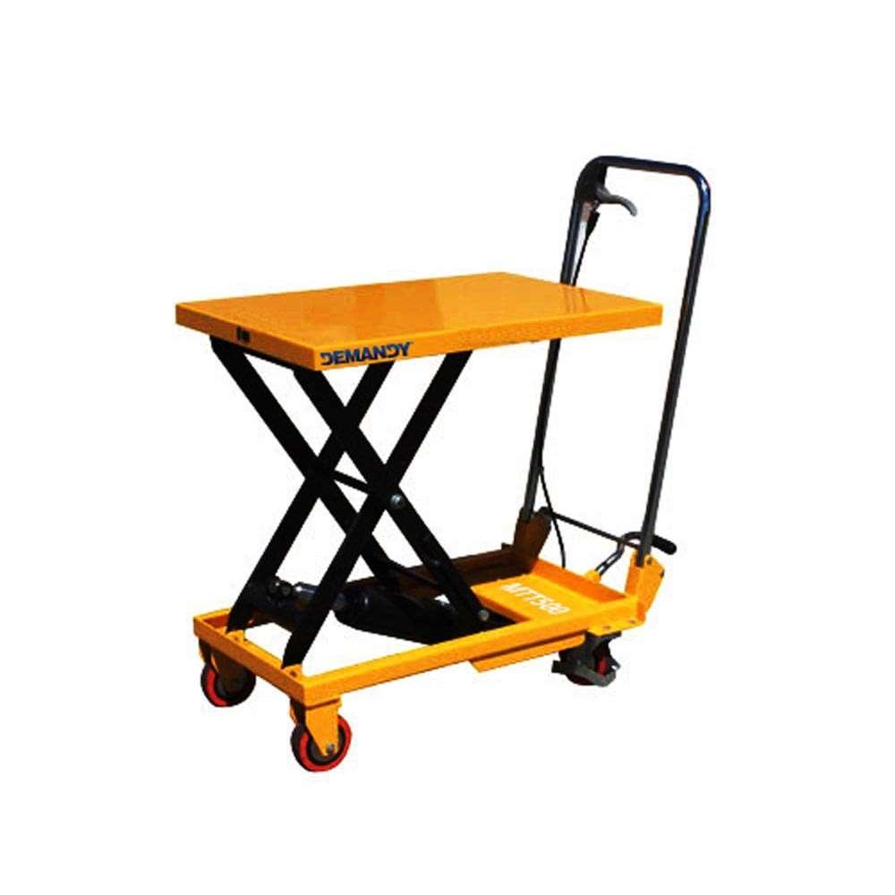 Hidraulikus kézi emelőasztal - 500 kg