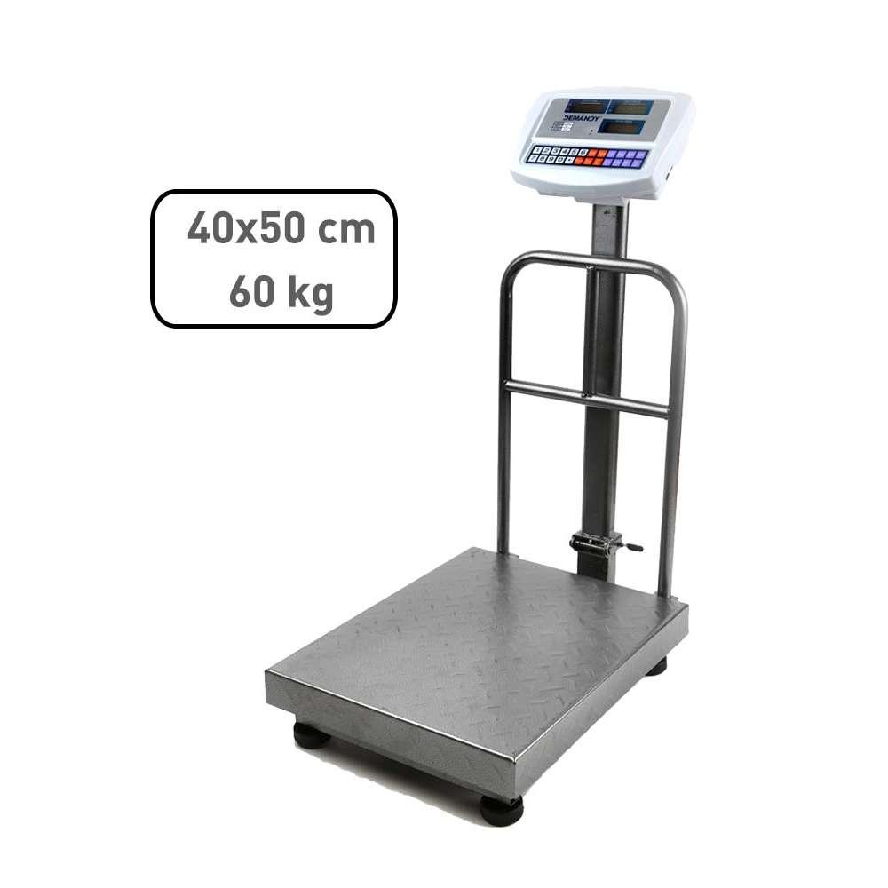 Demandy TCS 60 kg 50 x 40 ipari raktári mérleg